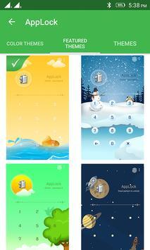 AppLock Theme Winter apk screenshot