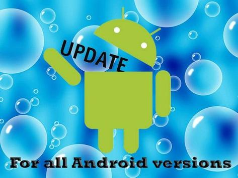 Update for Android os poster