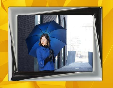 Beautiful Girl and Umbrella poster