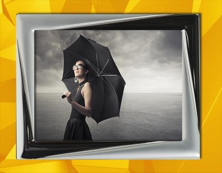 Beautiful Girl and Umbrella apk screenshot