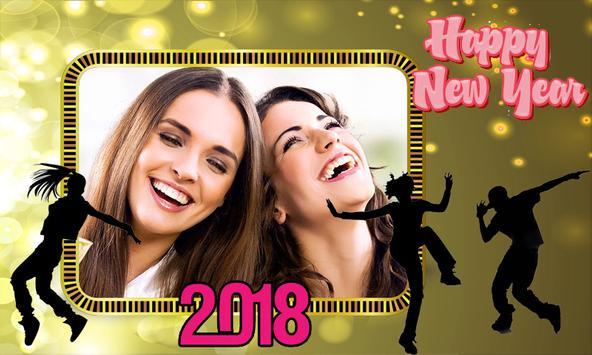New year photo frame 2018 apk screenshot
