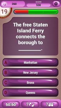 New York Fun Trivia Quiz Game apk screenshot