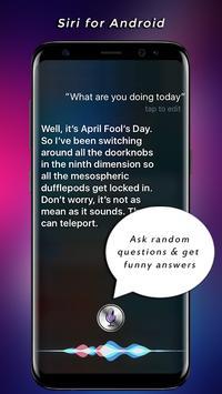 Siri For Android 2018 screenshot 1