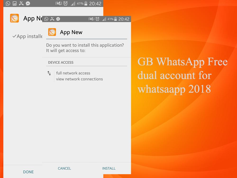 GB WhatsAap chats 2nd 2018 for Android - APK Download