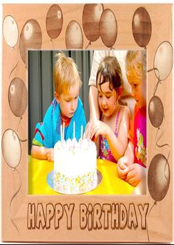 Birthday Photo Frame apk screenshot