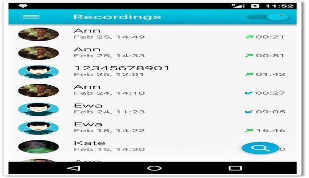 Automatic Call Recorder Pro apk screenshot