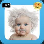 Cute Baby Beard icon