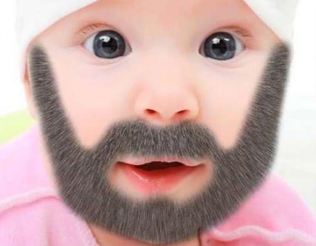 Cute Baby Beard screenshot 1