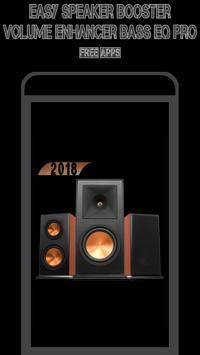 Easy Speaker Booster - Volume Enhancer Bass EQ Pro poster