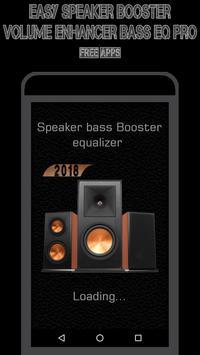 Easy Speaker Booster - Volume Enhancer Bass EQ Pro screenshot 1