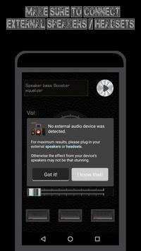 Easy Speaker Booster - Volume Enhancer Bass EQ Pro screenshot 9