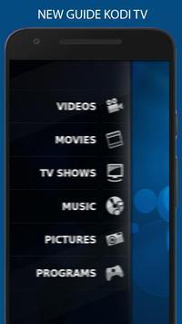 Free kodi tv & Movies  guide poster