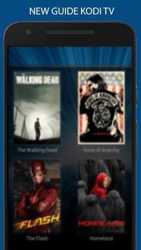 Free kodi tv & Movies  guide screenshot 1