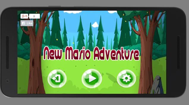 Super castle Mario Adventures poster