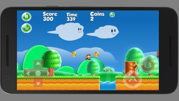 Super castle Mario Adventures apk screenshot