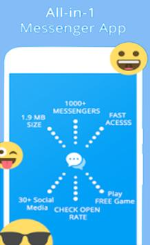 Messenger - Video Call, Text, SMS, Email poster