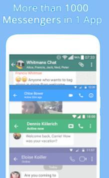 Messenger - Video Call, Text, SMS, Email screenshot 1