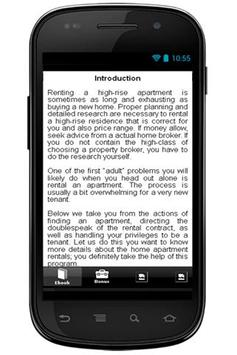Find Apartment For Rent Info apk screenshot