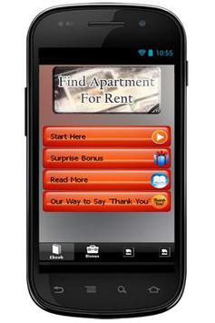Find Apartment For Rent Info poster