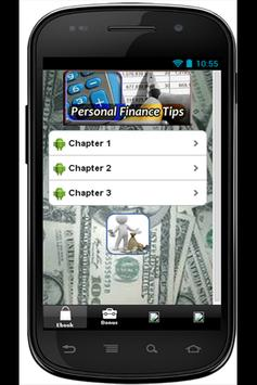 Personal Finance Tips apk screenshot