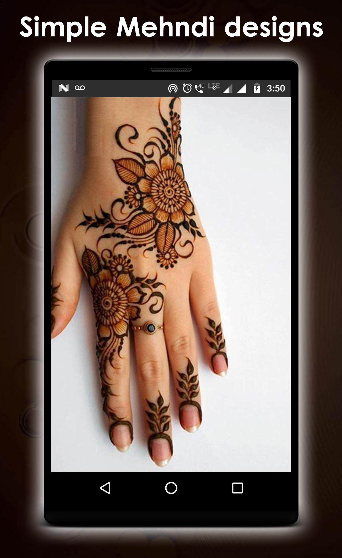 Simple Mehndi Design New For Android Apk Download