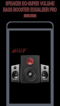 Speaker EQ-Super Volume Bass Booster Equalizer Pro poster