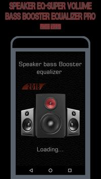 Speaker EQ-Super Volume Bass Booster Equalizer Pro screenshot 16