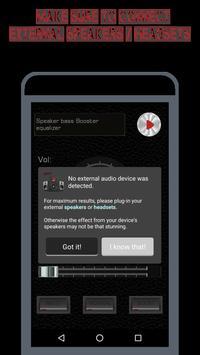 Speaker EQ-Super Volume Bass Booster Equalizer Pro screenshot 17