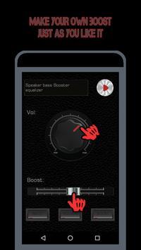 Speaker EQ-Super Volume Bass Booster Equalizer Pro screenshot 7