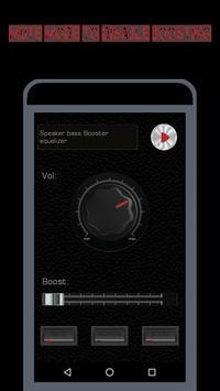 Speaker EQ-Super Volume Bass Booster Equalizer Pro screenshot 4