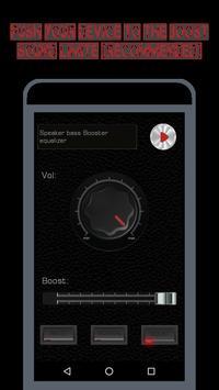 Speaker EQ-Super Volume Bass Booster Equalizer Pro screenshot 6