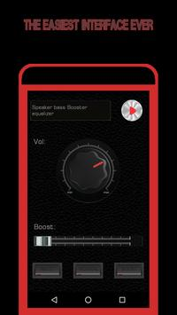 Speaker Volume EQ - Sound Bass Booster Equalizer screenshot 3
