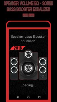 Speaker Volume EQ - Sound Bass Booster Equalizer screenshot 1