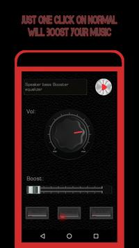 Speaker Volume EQ - Sound Bass Booster Equalizer screenshot 5