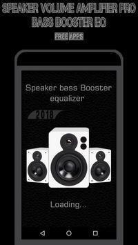 Speaker Volume Amplifier Pro - Bass Booster EQ screenshot 1