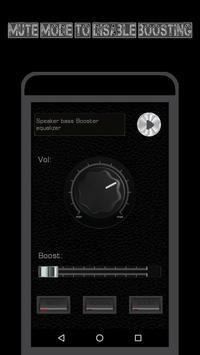 Speaker Volume Amplifier Pro - Bass Booster EQ screenshot 4