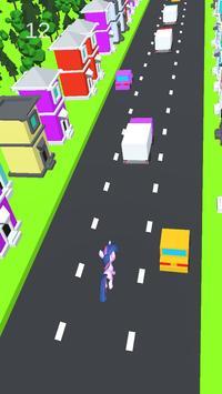 Twilight little pony crossing run apk screenshot
