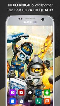 Nexo knights Wallpaper screenshot 1