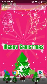 Christmas Jumping Angels LWP apk screenshot