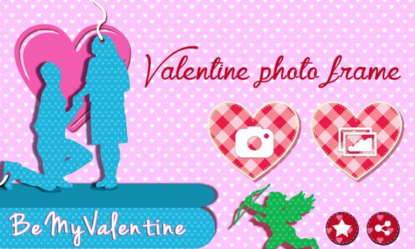 Valentine Photo Frame poster