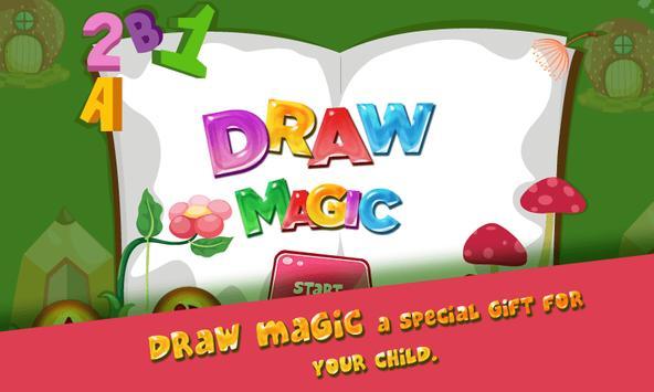 Draw Magic - Crazy Paint poster