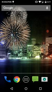 New Year Fireworks LWP poster