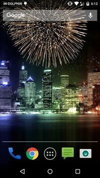 New Year Fireworks LWP screenshot 1