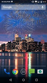 New Year Fireworks LWP screenshot 2