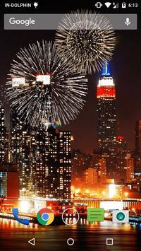 New Year Fireworks LWP screenshot 4