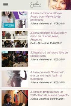 Julissa Ministries screenshot 2