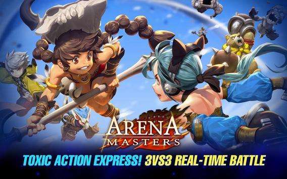 Arena Masters : Legend Begins poster