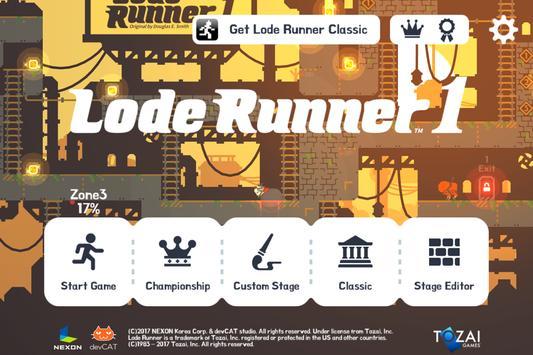 Lode Runner 1 apk スクリーンショット