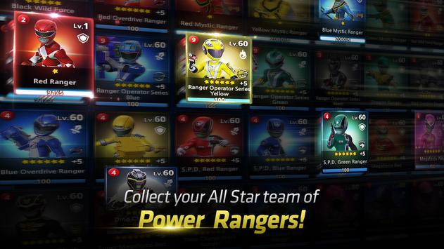 Power Rangers: All Stars ポスター