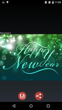 New Year Wishes Images 2017 apk screenshot